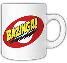 bazinga mug, the big bang theory mug