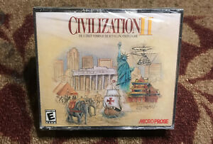 Civilization II 2 by Micro Prose 2000 Brand New Factory Sealed Rare PC Game New