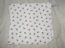 Baby Girl Cotton Flannel Receiving Swaddle Blanket Just One You Pink Monkey