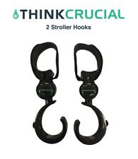 2 Replacements Universal Stroller Hook Clips