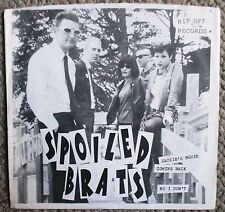 """Spoiled Brats Jackie's Never Coming Back/No I Don't 7"""" 45rpm Rip Off Records"""