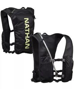 Nathan QuickStart 4L Unisex Hydration Race Vest One Size Black