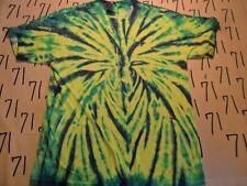 Medium- Green Yellow Tye Dye T- Shirt