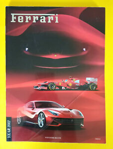 Libro Book Sportivo/Automobilismo FERRARI Magazine Year 2012 auto formula 1 eng.