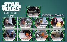 2019 SKYWALKER SAGA PATH OF JEDI GREEN RANDOM LOT OF 3 Topps Star Wars Digital