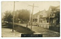 RPPC Street View in MARYSVILLE PA Perry County Real Photo Postcard