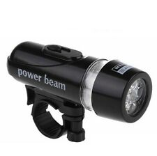 Bike Light Bicycle Rainproof Waterproof Lamp Front Headlight LED Flashlight 5LED