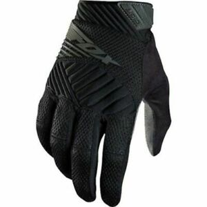 Fox Head Digit Full Finger Mountain Bike Mtb Gloves Black Size Small