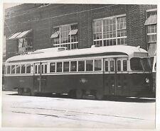 Streetcar in TORONTO ON, Reprint Trolley Bus Ontario Photograph