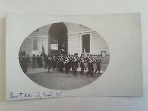 CARTOLINA MAK II 100 CORSO ACCADEMIA 1905 FOTOGRAFIA FESTA MILITARE REGNO
