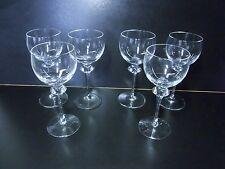 6 Peill Alexa Glas Kristall Wein Sherry Gläser 14,5 cm  #J