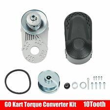 "Go Kart Torque Converter Clutch Kit 1"" Bore 10T #40 #41 #420 For Comet Manco"