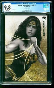 Wonder Woman Black & Gold 1 CGC 9.8 NM/M Carla Cohen Variant B DC Comics