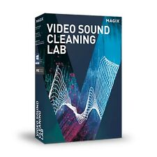 MAGIX Video Sound Cleaning Lab PC Software (Download)