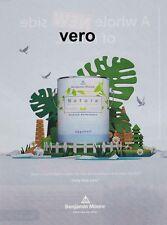 BENJAMIN MOORE magazine ad NATURA print clipping paint STILL LIFE art trees