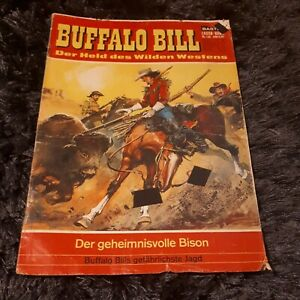 BUFFALO BILL (Lasso) Nr. 148, schöner BASTEI Western-Comic 1967 mit Magazinteil