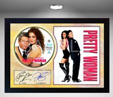 PRETTY WOMAN J.ROBERTS R.GERE SIGNED FRAMED REPRINT PHOTO CD Disc Perfect gift