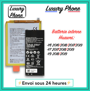 Batterie Interne Huawei Y6 Y7 Y9 2016 2017 2018 2019 + Kit Outils Compatible ⚡️