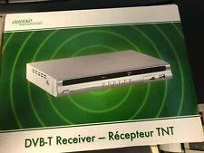 auvisio PX-1098 DVB-T-Receiver & Mediaplayer mit Videorecorder & HDMI, silber