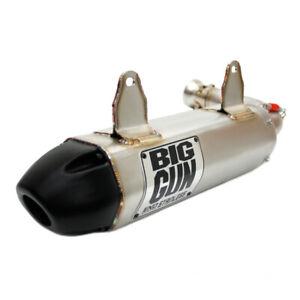 BIG GUN EXO Series Stainless Muffler Slip On Exhaust Pipe Commander 800 / 1000