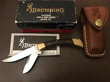 Vintage Japan BROWNING 501 Fish & Bird Knife -Fishing/Hunting Collection NIB