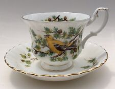 Royal Albert Woodland Series Tea Cup And Saucer Goldfinch