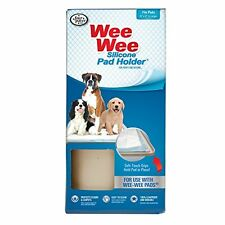 Four Paws Wee-Wee Silicone Dog House Breaking Pad Holder , New, Free Shipping