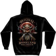 2nd Amendment Original Homeland Security Indian Skull Patriotic Hoodie RN2395