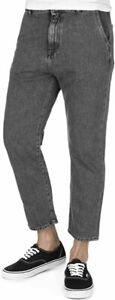 Edwin Mens Universe Pant Cropped Jeans Tapered Low Crotch - Size Large L