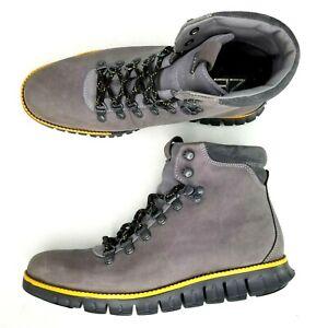 Cole Haan ZeroGrand Hiker II 2 Chukka Boots Mens Size 7.5 Water Resistant Gray