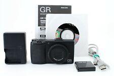 Ricoh GR DIGITAL III 10MP Digital Compact Camera Black from Japan[Exc+++]#723643