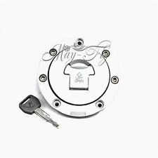 Fuel Gas Tank Cap Cover With Key For Honda CBR250RR MC19 MC22 Jade250 CB250/400