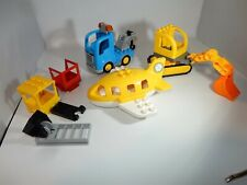 Duplo Lego vehicles airplane construction other lot