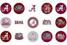 15 Pre-Cut Alabama Crimson Tide 1 Inch Bottle Cap Images