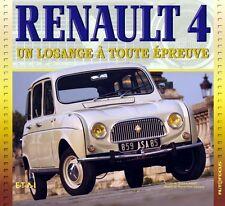 Livre RENAULT 4 : Un Losange A Toute Epreuve Ed ETAI (Neuf)