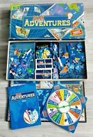 Atlas Adventures Family Board Game 3rd Edition Educational Geography Complete