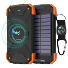 Wireless Powerbank, Portable Charger 10000mAh External Battery LED Light