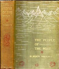 RARE 1894 FIRST EDTION H. RIDER HAGGARD AFRICA PEOPLE OF THE MIST ILLUSTRATED