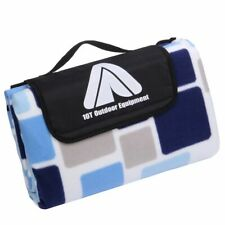 PicNic Cube XL Picknickdecke 200x200 Fleece Decke wasserdichte Stranddecke