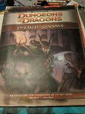 Dungeons & Dragons Pyramid of Shadows  WOC D20 RPG EZ200