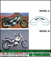 kit adesivi stickers compatibili eaglet 50 125 six speed
