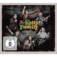 We Got Love-Live (2CD+2DVD) von The Kelly Family (2017)