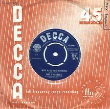 Max Bygraves~Original UK 45 Who made the morning EX 1959 Decca F11176 Vocal Pop