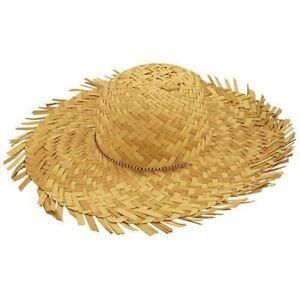 Womens Straw Beachcomber Hawaiian Fancy Hat Ladies Bonnet Tropical Summer Hat