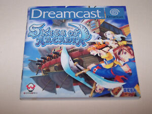 Skies of Arcadia / Original Manual Only / Sega Dreamcast / PAL Version