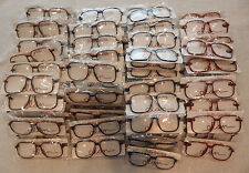 Vintage 100 Pc. Elan # 606 Carbon Assorted 56/14 Eyeglass Frame Lot NOS lot#82