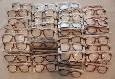 Vintage 100 Pc. Elan # 606 Carbon Assorted 56/14 Eyeglass Frame Lot Nos lot#82c