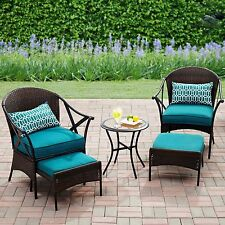 Patio Furniture Clearance Sets For Sale Side Table Chairs Ottoman Pillow Outdoor