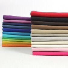 Linen Ramie Fabric Cotton Flax Plain Color Cloth Dress Shirt Drapery By Meter
