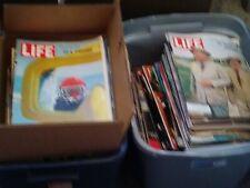 Lot Of 5 Random Vintage Life Magazine 1950's, 1960s, 1970s